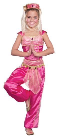 Dream Genie Girls Costume - Genie and Belly Dancer Costumes