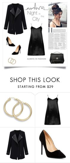 """""""Night in the city"""" by tuicat14 ❤ liked on Polyvore featuring Masquerade, Boohoo, Liliana and Chanel"""