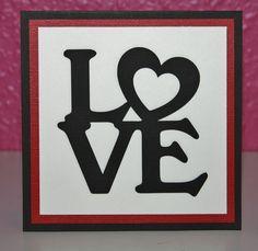 Love, Valentines kort