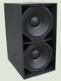 Our LW SW is a bass reflex superb subwoofer system for any kind of touring sound equipment. The bass reflex technology delivers th. Best Subwoofer, Subwoofer Box Design, Speaker Box Design, Woofer Speaker, Speaker Amplifier, Pro Audio Speakers, Hifi Audio, Best Home Theater System, Speaker Plans
