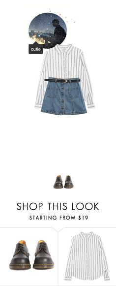 """""""— Yeoreum ♡ Surprise Date with Dong Woo (rtd)"""" by heartbeat-official ❤ liked on Polyvore featuring Dr. Martens and Chicnova Fashion"""