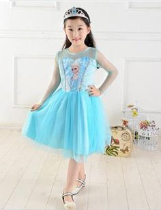 Elsa dress up dress. 1 only in size 2-3 years @ R250