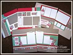 Just Crazy Blessed - CTMH Close to My Heart Sparkle & Shine Layout Trio! $30 - love susans' work...