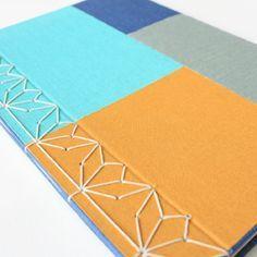 Image of Bonbori - Japanese Stab Binding Journal Covers, Book Journal, Journal Cards, Journals, Notebooks, Japanese Stab Binding, Types Of Craft, Handmade Books, Book Binding