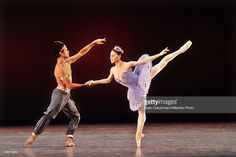 Cuban born dancer Jose Manuela Carreno of the American Ballet Theatre and Argentinian dancer Paloma Herrera perform the Corsario in the Karl Marx Theatre on November 3, 2010, in Havana, Cuba. It was the first performance of the ABT in Cuba in 50 years. The show is part of a week long celebration on occasion of the 50th anniversary of the Cuban Ballet and the 90th birthday of Alicia Alonso, prima ballerina assoluta and director of the Cuban Ballet, on December 21, 2010.