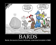 Those Bards get around just as much as dragons do, it seems.