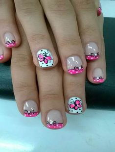37 Cute Butterfly Nail Art Designs Ideas You Should Try Spring Nail Art, Nail Designs Spring, Cute Nail Designs, Spring Nails, Butterfly Nail Designs, Butterfly Nail Art, Nail Printer, Nails For Kids, Fabulous Nails