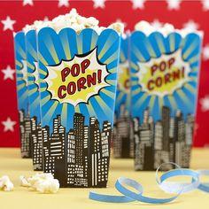 Cajas de palomitas de maíz partido de por littlepartycompany