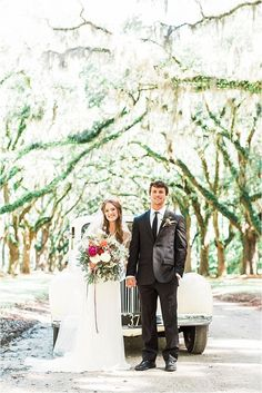 A bridal portrait under the spanish moss.   Savannah Wedding Style Shoot at Wormsloe | Bride Link
