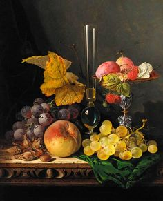 Edward Ladell Still Life 19th century