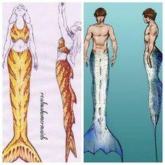 Photo from realmakomermaids Fin Fun Mermaid Tails, Silicone Mermaid Tails, Mermaid Tale, H2o Mermaids, Fantasy Mermaids, Mermaids And Mermen, Magical Creatures, Fantasy Creatures, Merman Tails