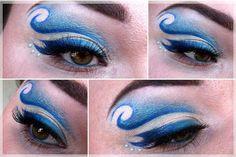 Sailor Neptun inspired makeup by http://milchschokis-beautyecke.blogspot.de/2016/04/Sailor-Neptun-Blogparade.html