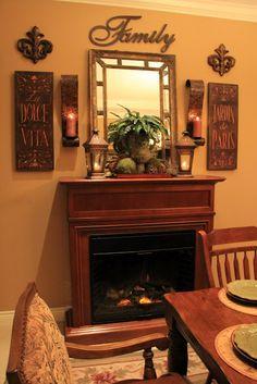 Savvy Seasons by Liz: Adding Drama In The Dining Room