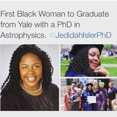 She better do that! Black Excellence.