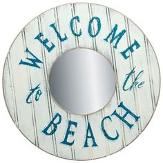 Shop welcome to the Beach Signs.