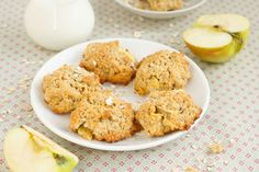 Feed your inner Cookie Monster with delicious low-carb cookies. These diabetic cookie recipes are delicious! Diabetic Cookies, Diabetic Desserts, Best Dessert Recipes, Apple Recipes, Diabetic Recipes, Fun Desserts, Sweet Recipes, Cookie Recipes, Delicious Recipes
