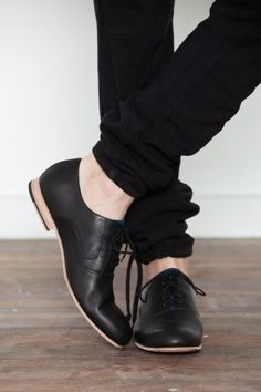 Black shoes.