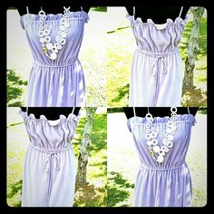 Vintage style lilac dress NWOT!  Vintage style lilac dress. Never worn, tag removed, size 9-10. Dresses