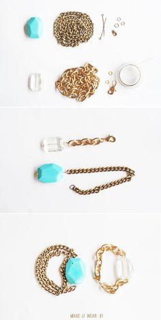 DIY Gemstone Bracelets