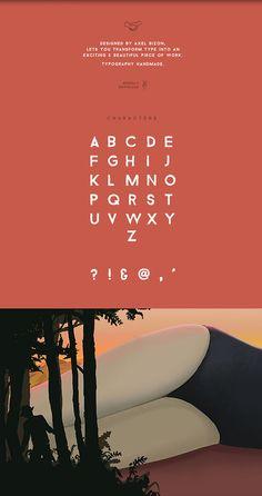 Bizon — Free Font