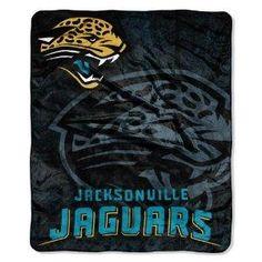 "NFL Jacksonville Jaguars 50"" X 60"" Throw Blanket"