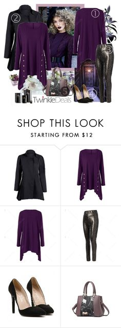 """TwinkleDeals Contest - Buttoned Pullover Sweatshirt"" by carola-corana ❤ liked on Polyvore"