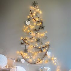 Christmas tree - this would be a cool way to display the ornaments w/ pics of the kids, or that they made for me...!