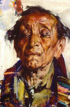 Старый индеец (1927—1933). Николай Фешин
