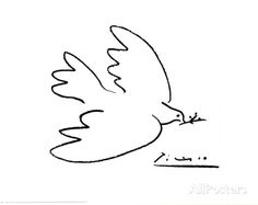 Dove of Peace Prints by Pablo Picasso at AllPosters.com