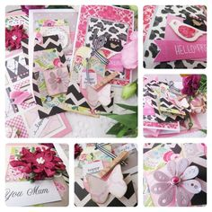 Celebrating Sisterhood Card Making Kit - Mothers Day Card Card Making Kits, Unique Cards, Cardmaking, Embellishments, Mothers, Gift Wrapping, Scrapbook, Projects, How To Make