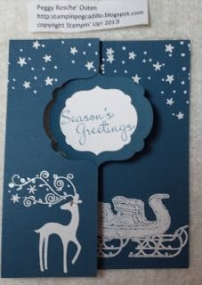 Stampin Pegcadillo: Holiday SAS, pt 1 project 4