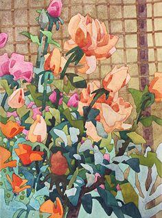Orange Poppies - Carolyn Lord