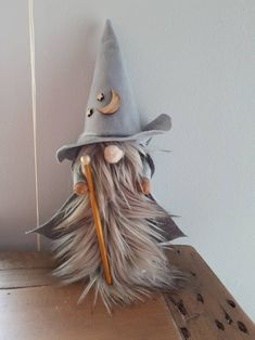 Unique Christmas Decorations, Easy Christmas Crafts, Christmas Gnome, Christmas Projects, Fall Crafts, Halloween Crafts, Crafts To Make, Halloween Decorations, Etsy Christmas