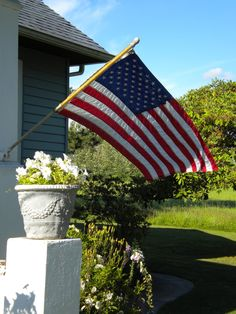 American Flag flying free! dont need a special day just put it out there!!