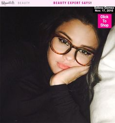 If you wear glasses, it's easy to feel like you can hide behind your frames. But why hide when you can enhance your beauty look like Selena Gomez did in this sexy Instagram post! The 'Same Old Love' singer looked stunning in her glasses selfie, inspiring us to breakdown her look with a few expert tips. Get the scoop on how to wear your makeup with glasses here!