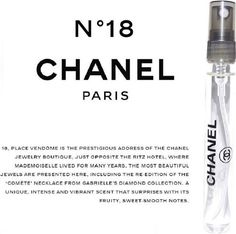 chanel 18 edt