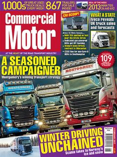 Commercial Motor | Used Trucks For Sale & Road Transport News
