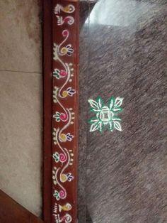 Simple Rangoli Designs Images, Rangoli Designs Latest, Colorful Rangoli Designs, Rangoli Designs Diwali, Kolam Rangoli, Flower Rangoli, Easy Rangoli, Beautiful Rangoli Designs, Mehndi Designs