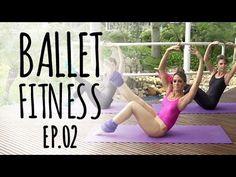 Faça em casa a aula de ballet fitness e fique com o corpo durinho | MdeMulher