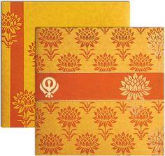 sikh wedding cards offer by shubhankar wedding invitataions