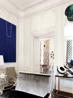 ~ Lauren Santo Domingo's Paris Duplex ~