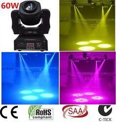 2X 60W LED Spot Moving Head Light – MyDIYsigns