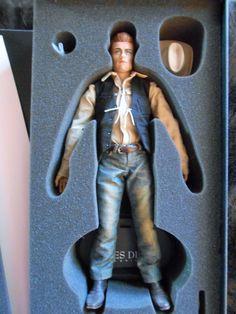 2008 Hot Toys JAMES DEAN Sixth Scale Figure COWBOY VERSION M ICON 001