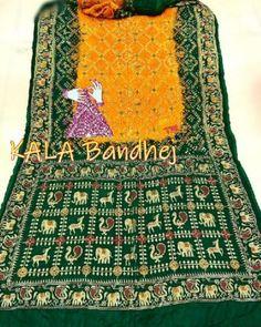Bandhani Saree, Silk Sarees, Embroidery Saree, Hand Embroidery, Cotton Silk, Silk Satin, Tie And Dye, End Of Season Sale, Bohemian Rug