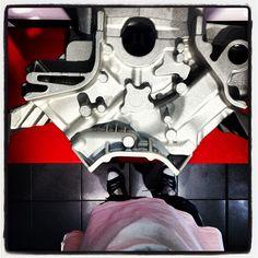 #day 5 #pitstop #8 #cylinder #engine #base #preferisco sempre la #porsche cmq #museoferrari #maranello
