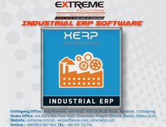 http://extreme.com.bd/Software/industrial-production-erp-software XERP Software is one of the leading Cloud ERP Software in Bangladesh, for Industrial Manufacturing also Production oriented companies.Our industrial ERP Software is Better Than Best Software Solutions for Your Sector. The ERP Software system works with combined modules of- Orders, Sales & Export Management Module Purchase & Import (LC) Management CRM (Party Management Module) Collection & Payment Management Module Inventory…
