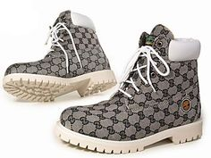 Gold Chain Men Outfit Custom Timberland Boots For Men White and Grey,Fashion Winter Timberland Women Boots,timberland rootbeer boat shoes Timberland Roll Top Boots, Custom Timberland Boots, Timberland Boots Outfit, Timberland Waterproof Boots, Timberlands Shoes, Timberland Premium, Tims Boots, Timberland Nellie, Timberland Chukka