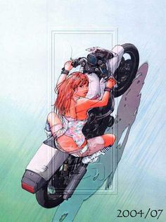 BG Images Large Anime Motorcycle, Comics Anime, Bike Drawing, Drawn Art, Damier, Cyberpunk Art, Car Drawings, Bike Art, Portrait Illustration