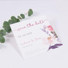 Save the Date Karte Flowerpower 7285262
