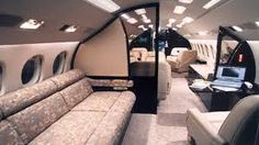 The cabin of a long-range Dassault Falcon 7 Airplane Interior, Private Jet Interior, Flying First Class, Luxury Jets, Aircraft Interiors, Air Travel, Travel Tips, Fighter Aircraft, Life Goals